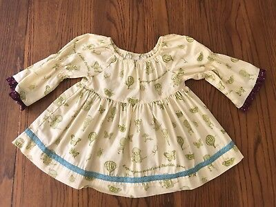 Matilda Jane Girls Size 2 Paint by Numbers Shirt Top EUC