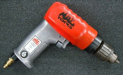 "MAC Tools Air / Pneumatic Reversible 3/8"" Drill -- AD800 with Jacobs Chuck"