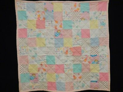 machine quilted baby quilts