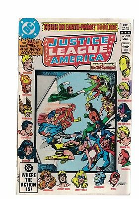 DC Comics Justice League of America no 207 Oct 1982 60c USA