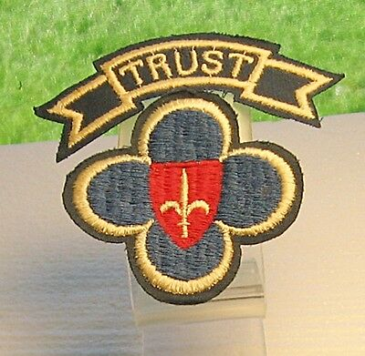 Wwii U.s. Forces Trieste Patch And Theater Made Tab
