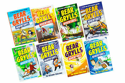 Bear Grylls Adventures 8 Book Collection
