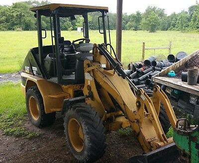 2001 Caterpillar 906 Wheel Loader CAT Bucket Forks Tree Boom