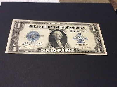 1923 $1 One Dollar Silver Certificate US Large Size Note