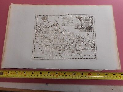 100% Original Berkshire Map By T Kitchin  C1786 Vgc Low Start