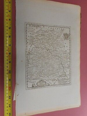 100% Original Shropshire Map By T Kitchin  C1786 Vgc Low Start