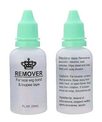 Tape Keratin Bond Glue Remover For Hair Extension And Lace Wigs 30ml