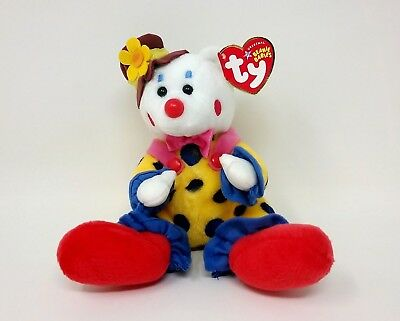 Ty Beanie Baby JUGGLES the Clown Bear MINT with MINT TAGS RETIRED 2004  RETIRED f21c94a10279