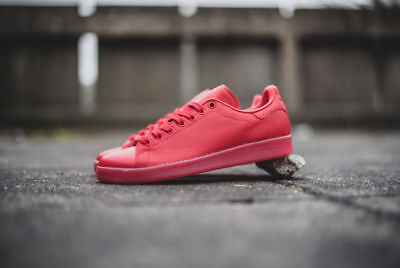 e6fc8bbe1fd NEW Adidas Stan Smith Adicolor Scarlet Red Men s Shoes Leather Trainers  S80248