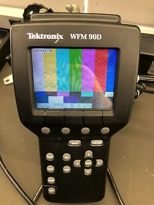 Tektronix WFM 90D Handheld Scope Waveform SDI