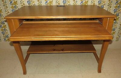 Ethan Allen Country French Provence Laminate Top Computer Vanity TV Desk 26 9427