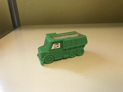 Vintage Snoopy Butterfly Originals Pencil Sharpener Dump Truck