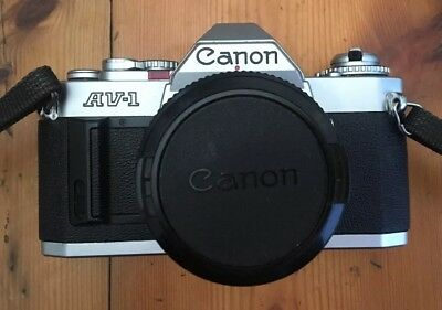 Canon AE-1 model- 372104  50mm Film Vintage Camera + Free Post Aus Seller
