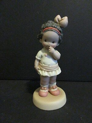 1992 Enesco Memories Of Yesterday It Strikes Me I'm Your Match Figurine-New