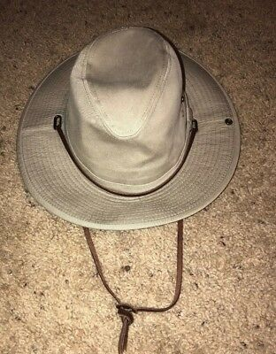 JHATS SAFARI TAN Hat With Strap One Size fits all -  9.95  0f67477c24c3