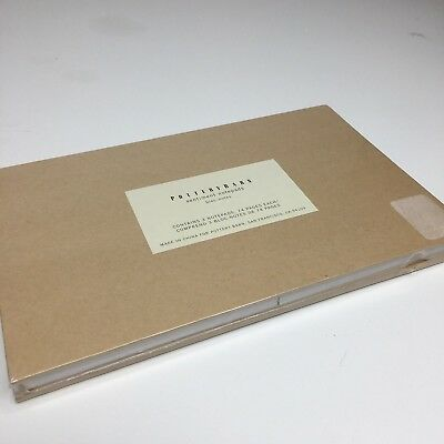 NEW Pottery Barn SENTIMENT NOTEPADS set / 3  Shopping List Reminder Message gift