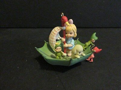 1992 Enesco Memories Of Yesterday Ornament Sailin' With My Friends-New In Box