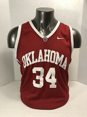 Nike Elite Series Oklahoma Sooners basketball jersey men s size XL  34 9d29aa1a9
