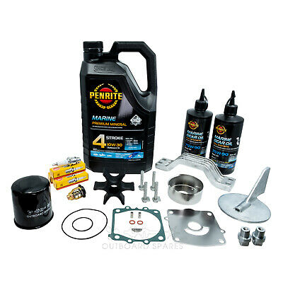 Yamaha Annual Service Kit with Anodes & Oils for F150hp 4 Stroke Outboard