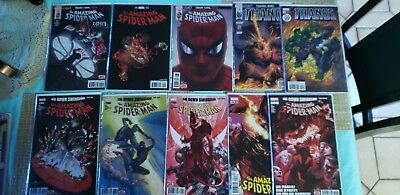 The Amazing Spider Man 795-800 , 682-686 , THANOS VARIANT (ALL FIRST PRINT)