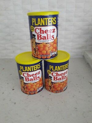 Planters Cheez Balls-2018 release 2.75 OZ LOT OF 3. In hand, FAST, FREE SHIPPING