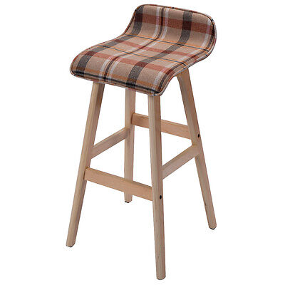 Enjoyable Vintage Bar Stool Retro Wooden Tractor Barstool Industrial Bralicious Painted Fabric Chair Ideas Braliciousco