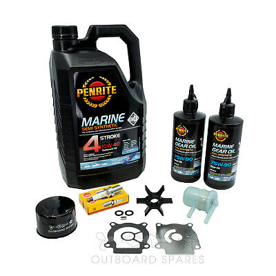 Suzuki Annual Service Kit with Oils for DF40-50hp 4 Stroke Outboard