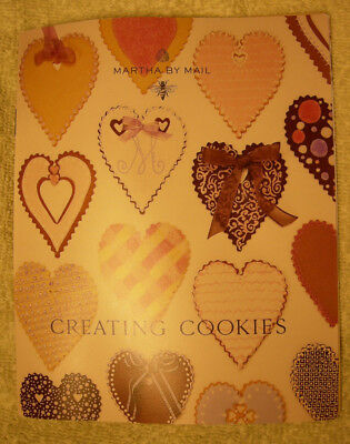 Martha Stewart cookie booklet from Copper cutters collection