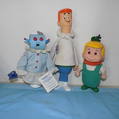Vintage Applause Jetson figures Rosie Elroy George with Tags Toys Jetsons