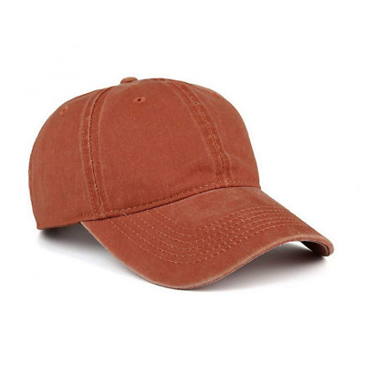 Low Profile Washed Brushed Twill Cotton Adjustable Baseball Cap Outdoor Mesh Hat