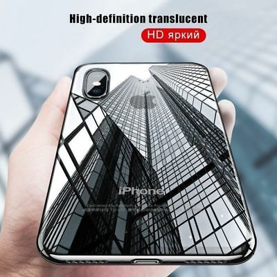 Ultra Thin Clear Case For Apple iPhone XS MAX XR 2018 Soft Silicone Phone Cover