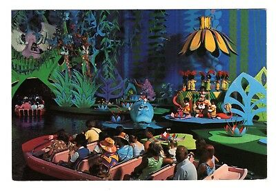 Walt Disney World It's A Small World Vintage 4x6  Postcard Sep18