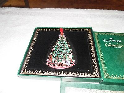 2008 Whtie House Historical Association Christmas Ornament Honoring Harrison NO