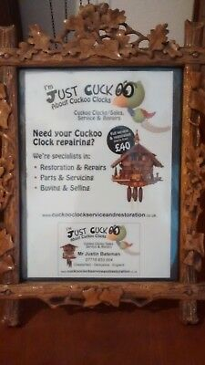 Cuckoo Clock Sales Service Restoration Parts