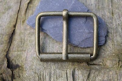 Metal Roller Buckle TO FIT 40mm Strap / Belt ANTIQUE Brass replacement buckle R