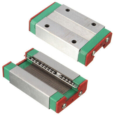 Steel MGN12H Linear Sliding Block 4.3x2.6x1cm for MGN12 Linear Guide CNC XYZ DIY