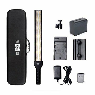 Nanguang CN-RGB18 Portable Handheld RGB Full Color LED Light Studio + Battery