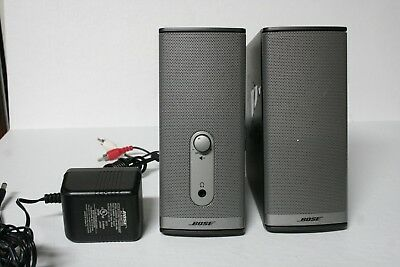 Bose Companion 2 Series II Wired Multimedia & Computer Speaker System-FREE SHIP