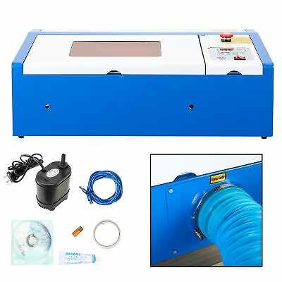 40W CO2 Laser Graviermaschine USB Cutting Engraver Graveur Lasergravur Upgraded