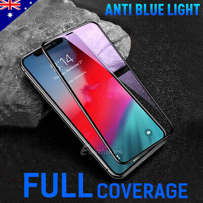 2X Apple iPhone 11 Pro XS Max XR X 6D Full Cover Screen Protector Tempered Glass