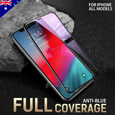 2X For Apple iPhone 11 Pro XS Max XR X 6D Full Screen Protector Tempered Glass