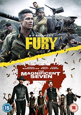 Fury / Magnificent Seven The (2016) DVD NUEVO