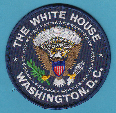 The White House Presidential Seal Police Shoulder Patch