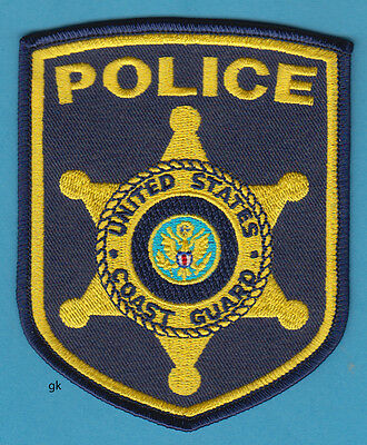 Uscg  Us Coast Guard Police Shoulder Patch