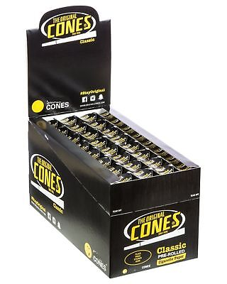 The Original Cones Black King Size - 2 PACKS - PreRolled 3 Cone Per Pack Roll