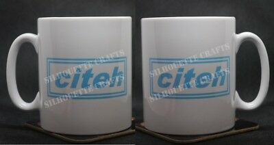 "Manchester City Oasis Inspired ""citeh"" Mug (Man City MCFC) Xmas Gift"