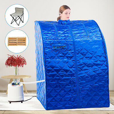 2L Portable Steam Sauna Loss Weight Slim Full Body Detox Indoor Home Spa Therapy