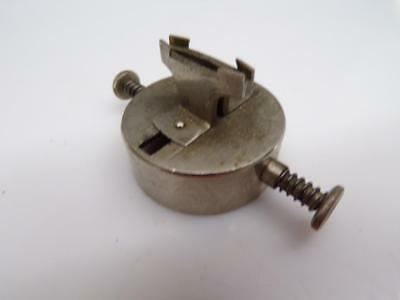German made Watchmaker Movement Vise Holder w Spring Loaded Adjustment  E673f