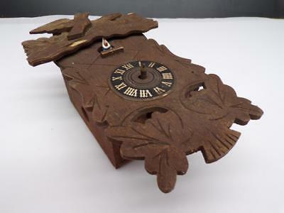 Nalder Anstalt German Black Forest Cuckoo Clock with Brass Movement Parts D602