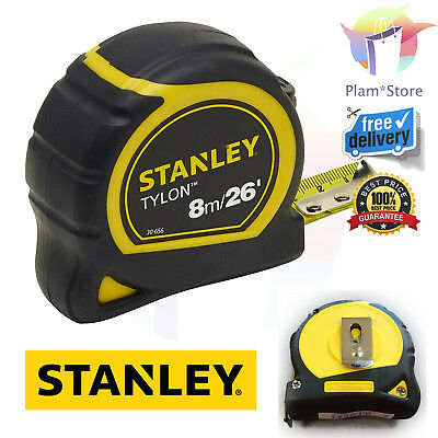 Professional Stanley Tape 8 m/26 feet (25 mm) Pocket Tape Measure Long Tools NEW